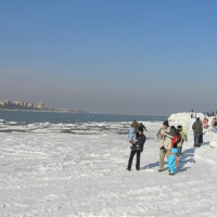Inghetata la Marea Neagra