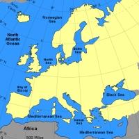Harta Europa!