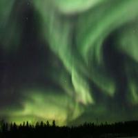 aurora boreala in canada