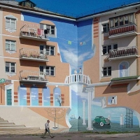 COOL MURALES AND PAINTED BUILDINGS BY JOHN PUGH