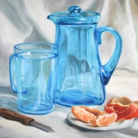 Still Life by Anna Rose painter