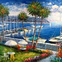 Costa Mediterrânea em Pintura
