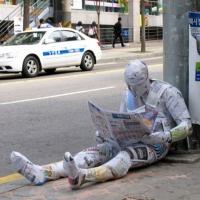 Sculpturi din ziare
