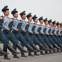 Pregatire pentru Ziua Nationala a Chinei