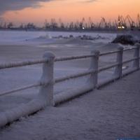 Romenia - Mar Negro no Inverno