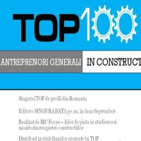 Top 100 Antreprenori Generali in Constructii 2010