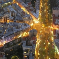 Parisul noaptea!
