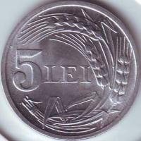 Monede romanesti, 1901-1947
