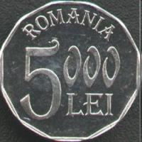 Monede romanesti, 1990-2010