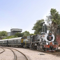 Rovos rail ( Pride of Africa )