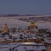 Christmas in Quebec (in limba franceza)
