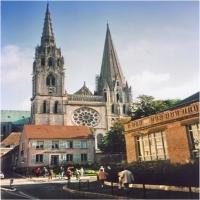 Catedrala din Chartres (Franta)