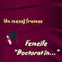 Doctorat pentru...mame