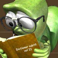 Dictionar subtil, vol II