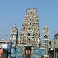 Sri Lanka Colombo, templu hindus