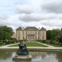 Paris Muzeul Rodin, gradinile 2