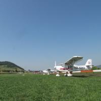 inaugurarea aerodromului EUROAIRBIS