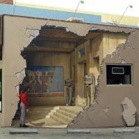 Pictura murala 3D