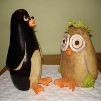 Arta... din oua, legume si fructe