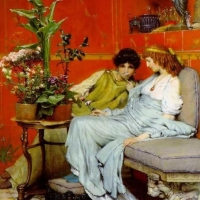 Pictorul Alma Tadema