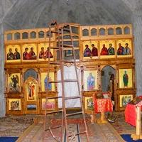 Biserica Rupestră Canaraua Fetii, Dumbrăveni. Jud. Constanţa.