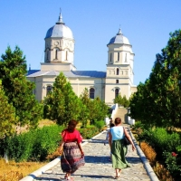 Mănăstirea Celic-Dere. Jud. Tulcea.