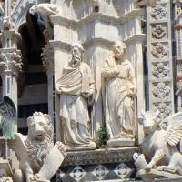 Italia Siena, Fatada Domului1