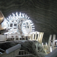 Salina din Turda - (Romania)