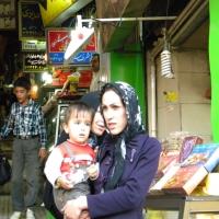 Iran Kermanshah Bazarul acoperit