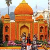 Menton festival de l'orange spectaculaire