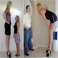 Femei Înalte.
