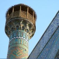 Iran Esfahan Moscheea de Vineri