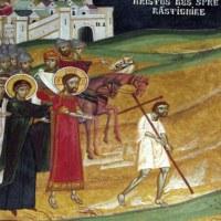 Biserica din Borzesti - pictura naos