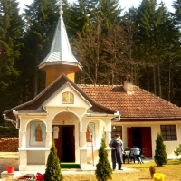 Mănăstirea Berivoii Mari. Jud. Braşov.