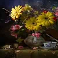 Jolis bouquet de fleurs