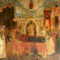 Biserica din Borzesti - muzeul