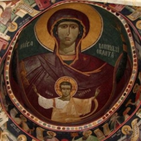 Biserica din Borzesti - pictura pronaos