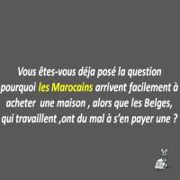 Les Marocains et leur maison en BELGIQUE