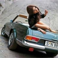 La femme et l'automobile