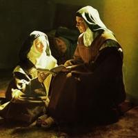 Religieuse peintre