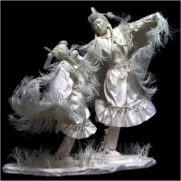 Allen & Patty Eckmam - sculptures en papier