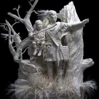 Native American Sculptures