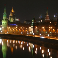 PAYSAGE - MOSCOU BY NIGHT