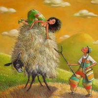 ART BY MARIANA KALACHEVA