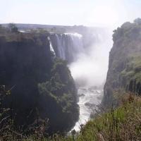 Africa Zimbawe Cataractes des chutes Victoria