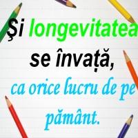 si longevitatea se invata