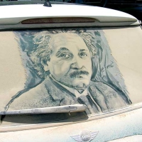 Art On Dirty Cars