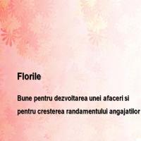 Stiati utilitatea florilor in mediul business?