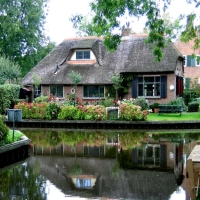 Giethoon-village with out streets