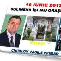 ACCEPTA SCHIMBAREA-NU EZITA-VOTEAZA VASILE CHIRILOV PRIMAR
